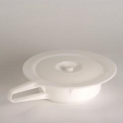 Vase rond en plastique