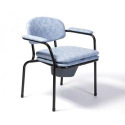 Chaise percée sur pieds