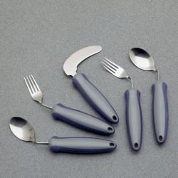 Fourchette coudée gauche