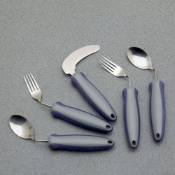 Fourchette coudée droite